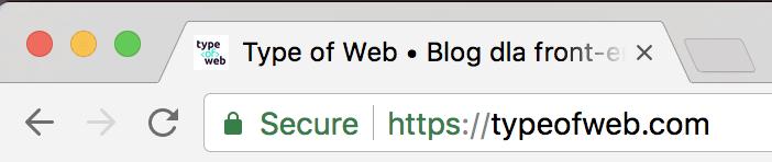 Certyfikat DV Type of Web