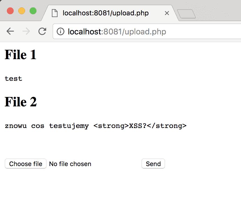 Skrypt upload.php powrzuceniu pliku