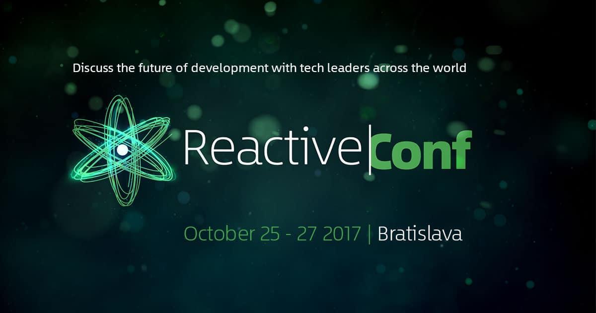 Krótka relacja z ReactiveConf 2017